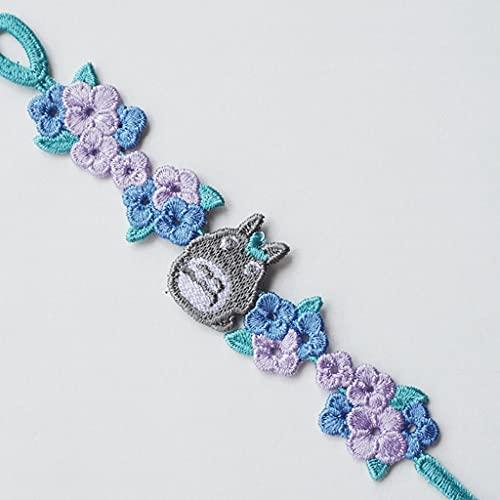 LYWER Pulsera de la pequeña Margarita Bordada de la Mano de la Cuerda de la Mano de la Mano del Regalo del día de San Valentín de los Hombres y Las Mujeres ( Color : E )
