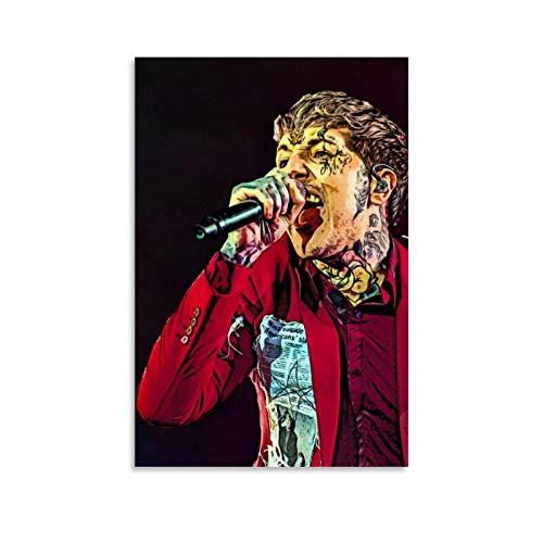 Oliver Sykes Bmth Sänger-Poster, dekoratives Gemälde, Leinwand, Wandkunst, Wohnzimmer, Poster, Schlafzimmer, Gemälde, 30 x 45 cm