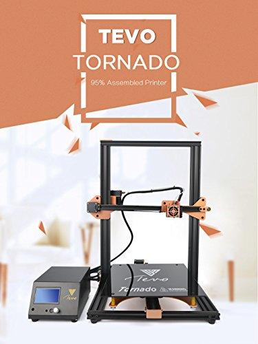 TEVO -Stampante 3D Tornado completamente assemblata ampia area di stampa 300x 300x 400mm