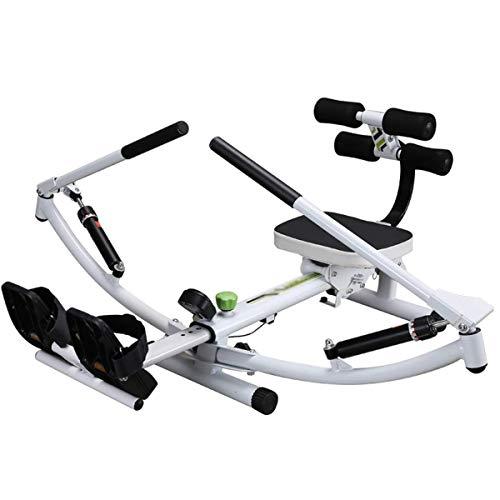 LJYY Máquina de remo para casa con 12 niveles de resistencia, plegable, peso máximo del usuario, 100 kg, para el hogar, cardio, entrenamiento, fitness