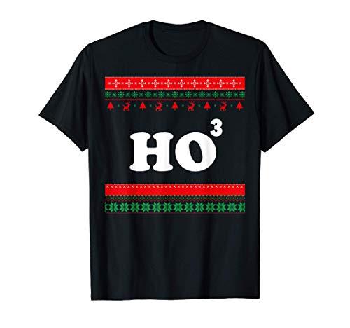 Ho Ho Ho Matematica Chistmas, brutto maglione natalizio Maglietta