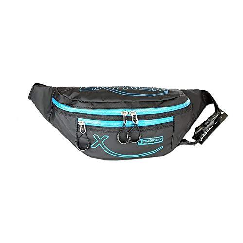 DrachenLeder Femmes Hommes sac de poche de ceinture synthétique noir bleu OTJ509B une offre de IMPPAC