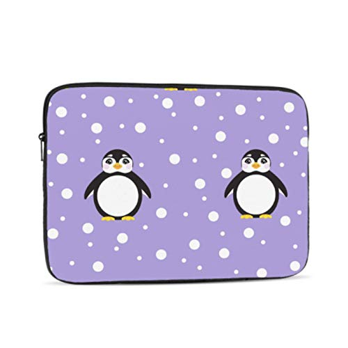 MacBook Accessories Cold Winter Snow Penguin Cover MacBook Air Multi-Color & Size Choices10/12/13/15/17 Inch Computer Tablet Briefcase Carrying Bag