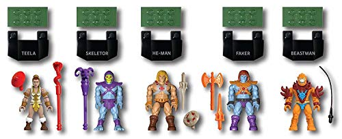 Mega Construx - Masters of The Universe GDV86 - Hero Pack Battle of Eternia Collection - He-Man