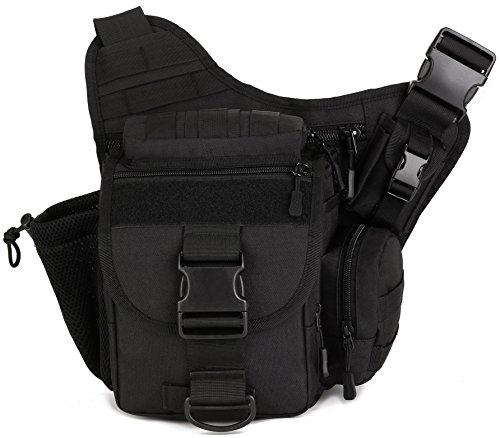 DCCN Militär Kamera Tasche Umhängetasche Sling Rucksack 30 * 10 * 30 cm