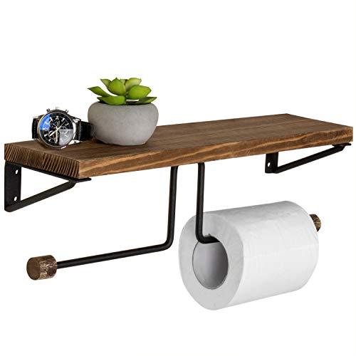 Top 10 best selling list for dual toilet paper holder wood metal