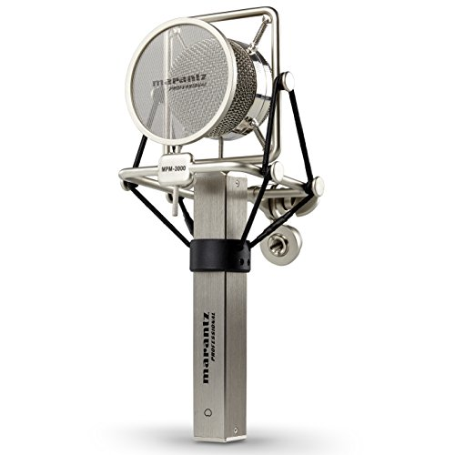 Marantz Professional MPM-3000 Kondensator Großmembranmikrofon mit Nierencharakteristik