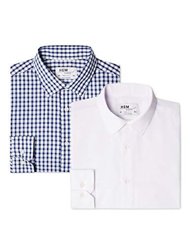 find. Men's 2 Pack Regular Shirt...
