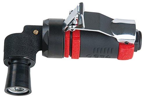 KS Tools SlimPOWER 515.5070 Mini-perslucht-schuurmachine voor kleine pads, 16500 omw/min