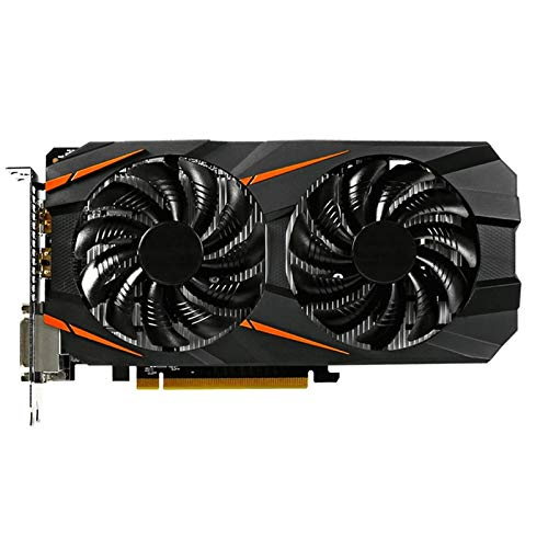 Fit For Gigabyte Tarjeta De Gráficos GTX 1060 Windforce OC 3G NVIDIA GeForce Integrado con 3GB GDDR5 Memoria De 192 bits Fit para Tarjetas Gráficas De PC