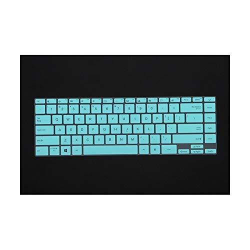 Asus ZenBook 14 UX425 UX425J UX425JA 2020 14' silicona teclado cubierta protector película protectora-blanco-azul-