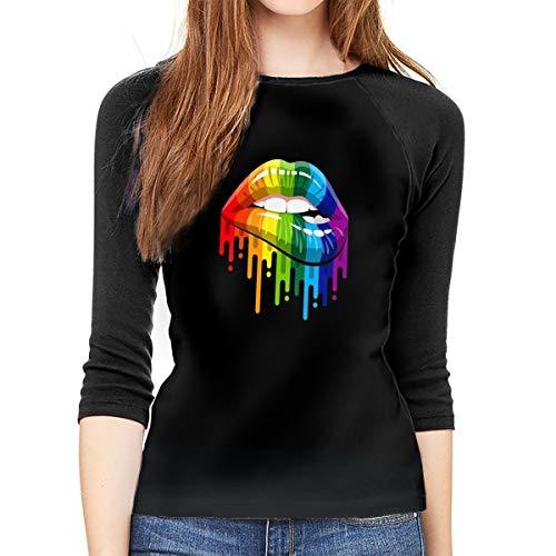 Gay Pride Womans LGBT Rainbow Lesbian Festival droite bi sexuel 2 T Shirt
