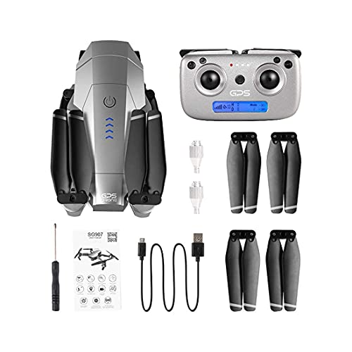 Accessori quotidiani Mini Drone 1080P 4K HD FPV Camera Modalità senza testa Avvio con un tasto Regolazione della velocità di volo Flip 3D Adatto per il trasporto