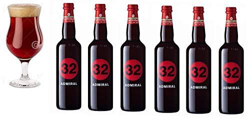 32 Via dei Birrai ADMIRAL Cerveza artesanal italiana [ 6 BOTELLAS x 750ml ]