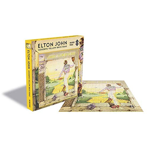 Goodbye Yellow Brick Road (500 Piece Puzzle)