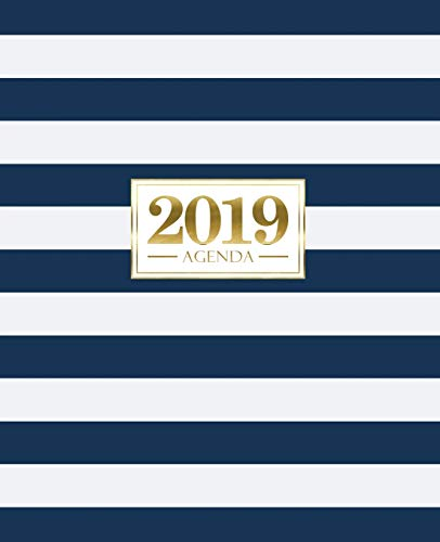 Agenda 2019: 190 x 235 mm : Agenda 2019 semana vista...