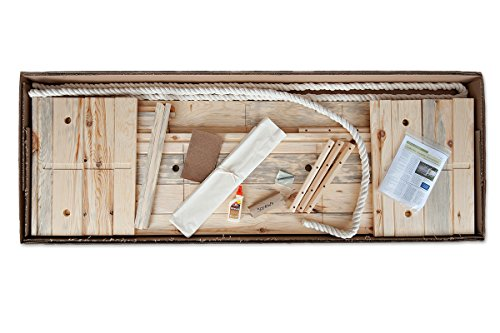 Build-Your-Own Simple caja de pino Kit–fabricada en madera de pino sostenible de enterramiento de bosques del norte de Wisconsin–adecuado para cualquier tipo de cementerio, Natural, O Cenizas–Caja de madera–Madera ataúd