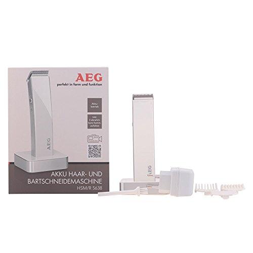 AEG HSM/R 5638 Haar und Bartschneidemaschine, weiß