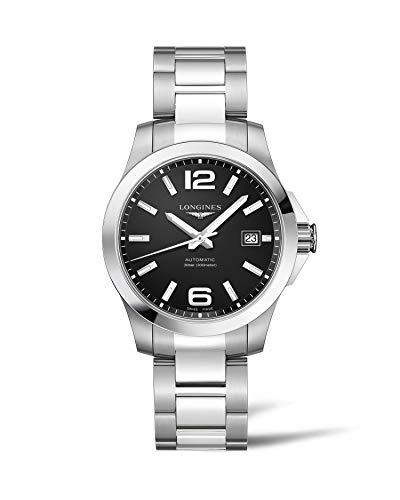 [ロンジン] 腕時計 コンクエスト 自動巻き L3.776.4.58.6 メンズ 正規輸入品
