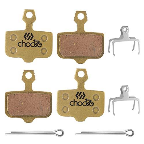 Chooee bremsbeläge für Avid Elixir 1 3 5 7 9 R ER CR Mag,Semi-metallisches bremsbelag für Sram XX X0 X7 X9 XXWC DB1 DB3 DB5