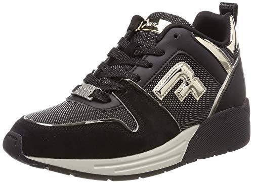 Replay Damen Walden Sneaker, Schwarz (Black 3), 39 EU