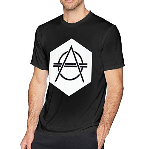 KDHRTI Herren Kurzarmshirt,Don Diablo Men's Classic Short Sleeve T-Shirt Black