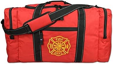 Lightning X Value Firefighter Turnout Gear Bag w/Maltese Cross - Red