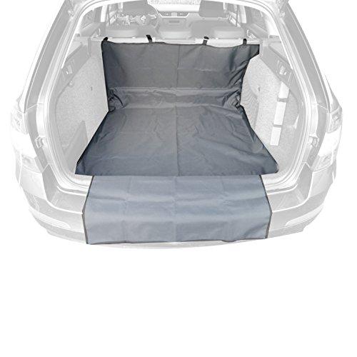 Landco LI-8911 Tapis de Coffre Multifonction 2 pièces Env. 145 x 115 cm + 79 x 63 cm - Protection Parfaite pour Votre Coffre, Bord de Chargement et habitacle - Fabriqué en Union européenne.