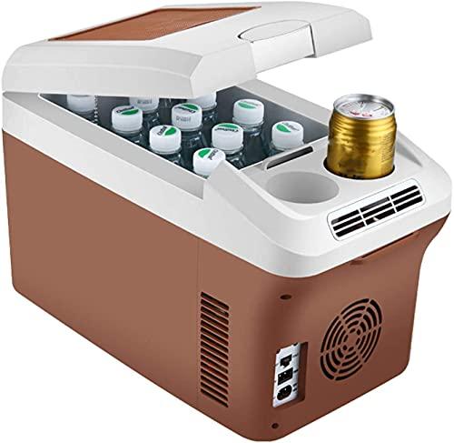 15L Coche portátil Refrigerador 12 / 24V / 220V Frigorífico congelador Caja de enfriador, Mini Frigorífico congelador para Camping Campervan, Vehículo, Camión, RV, Barco, Viajes, Hogar, Enfriador y Ca