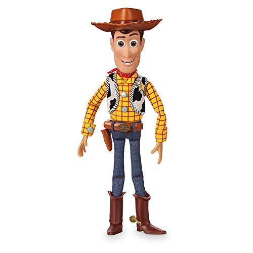 Disney Toy Story 4 Woody Talking doll action figure véritable Talkers 15 phrases
