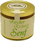Brandenburg-Spezialitäten Frank Freiberg - Kräuter-Senf, 120 ml