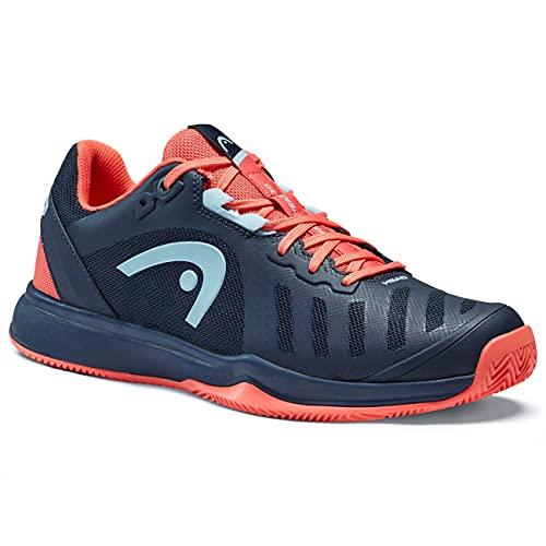 HEAD Sprint Team 3.0 2021 Clay Women DBCO, Zapatillas de Tenis Mujer, Color Azul, 39 EU