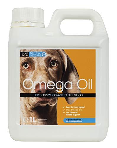 Natural VetCare Veterinary Strength Omega Oil Dog Supplement, 1000 ml, NVC225.1000