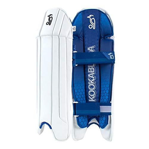 KOOKABURRA W/K 2020 1.1 Wicket Keeping Pads (Erwachsene), weiß
