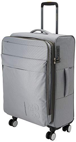 Mandarina Duck Md20 Lux Trolley Medium Exp Women's Top-Handle Bag, Grey (Gun Metal), 25.5x67x43 Centimeters (W x H x L)
