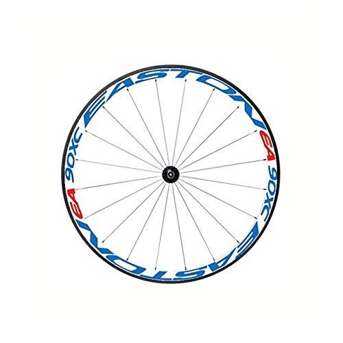 SHAYC 4 Lado Multicolor Bicicleta Llantas Llantas Pegatinas calcomanías Ciclismo Protector Seguro 26/27.5inch Rueda MTB Accesorios para Bicicletas (Color : 10)