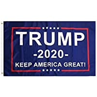 PringCor - 2020 President Donald Trump - Keep America Great! Durable Republican Conservative Flag with 2 Brass Grommets for Hanging [並行輸入品]
