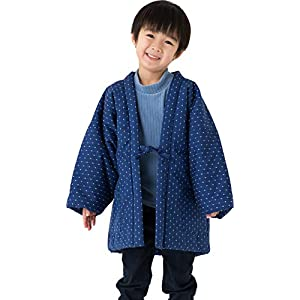 WATANOSATO Boys&Girls Dobby HANTEN Kimono Style Jacket