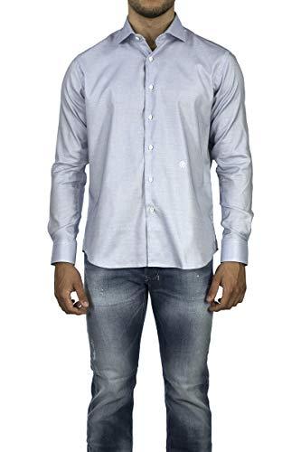 Roberto Cavalli Camicia Uomo Azzurro Camicia Uomo D3022/FANT. Blue 183876, L