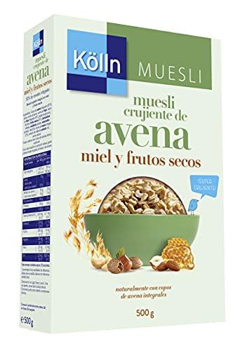 Kölln Cereales Integrales con Copos de Avena Crujiente, Cereales Integrales