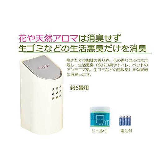 TOSHIBA小型消臭器エアリオン・スリムデオドライザーDC-230(W)