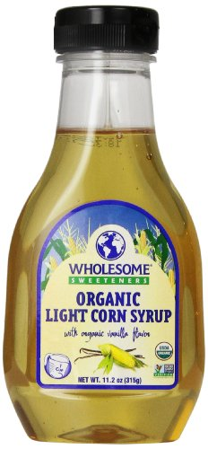 WholesWholesome Sweeteners Organic Light Corn Syrup, 11.2 oz. (Pack of 3)