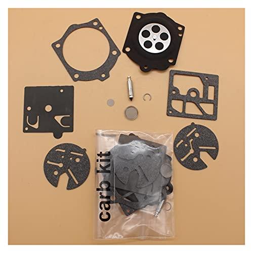 Kit de reparación de diafragma de carburador 2kit / lot para H-USQVARNA 140 S 240 S 240 SE 240 SG 444 para S-TIHL 015 015AV 015ave 015AVQ 015L 015LQ