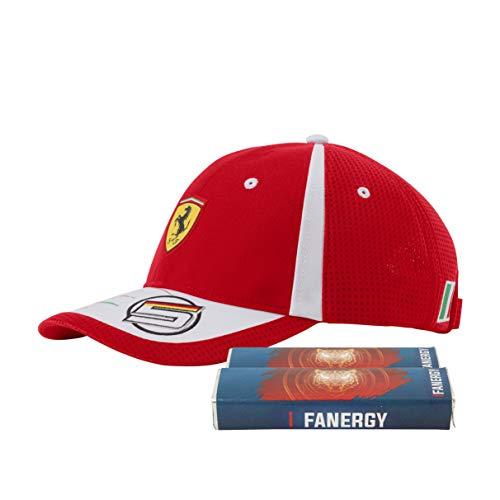 Scuderia Ferrari Sebastian Vettel Cap + FANERGY Traubenzucker