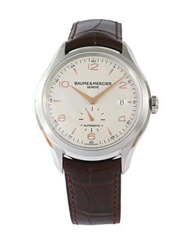 [ボーム&メルシエ] 腕時計 クリフトン 41mm 自動巻き アリゲーター M0A10054 並行輸入品 ブラウン