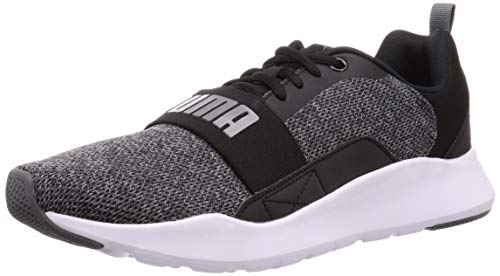 Puma Wired Mesh 2.0, Zapatilla, Puma Black-Castlerock, Talla 6 UK (39 EU)