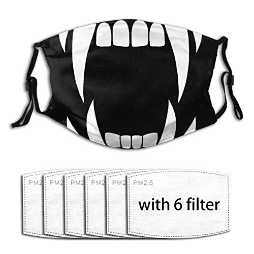 Ma-SKS Vampire with Multiple Filter Reusable Protective Dust Guard with 6 Filter