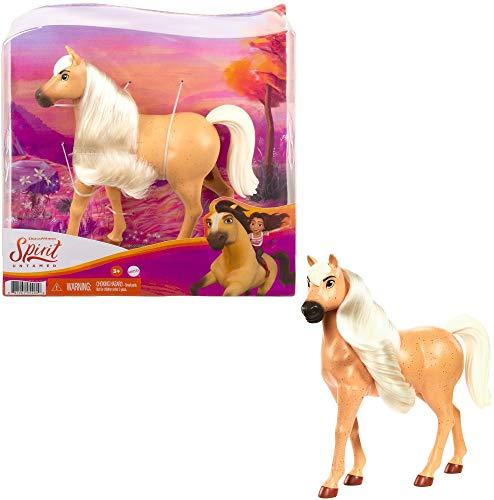 """DreamWorks Spirit GXD97 - Beiges Pferd, American Workhorse Hengst aus der Herde von \""""Spirit – frei und ungezähmt\"""" (20cm), beweglicher Kopf und lange Mähne, tolles Geschenk ab 3 Jahren"""