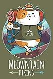 Meowtain Hiking: Cat 100 Page Hiking Logbook
