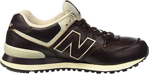New Balance Herren 574 Sneaker, Braun (Barrel Brown 211Barrel Brown 211), 41.5 EU